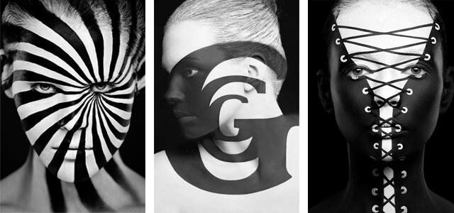 "Maquillaje 3D: ""2D or not 2D"", de Alexander Khoklov y Valeriya Kutsan"