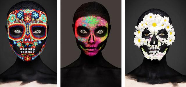 "Maquillaje 3D: ""Epitaph"", de Rankin y Andrew Gallimore"
