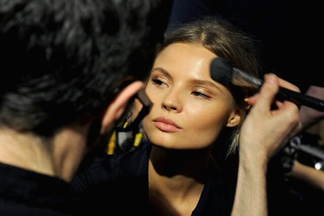 Maquillaje glow: desfile Blumarine