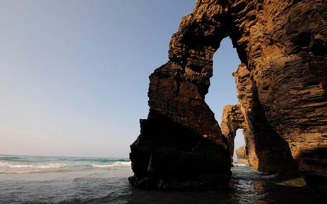 Fotografía de paisaje: Playa de las catedrales tus casas rurales