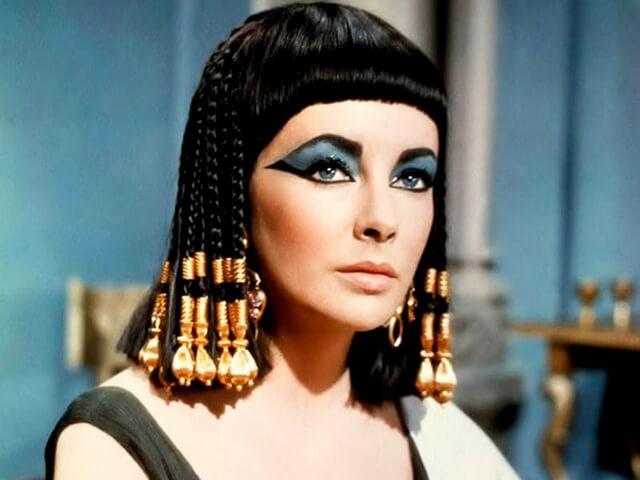 "Trenzas: Liz Taylor en ""Cleopatra"""