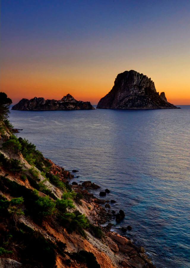 Playa D'Hort, en Ibiza. Fotografía de Federico Capoano, vía Flickr