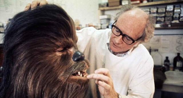 Cine: caracterización Chewbacca