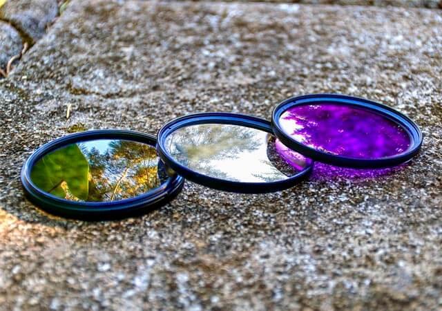 Diferentes tipos de filtro | Fuente: Pixabay