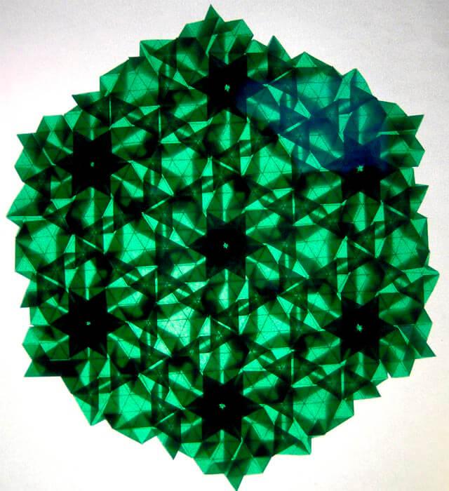 papiroflexia fotografia matematica