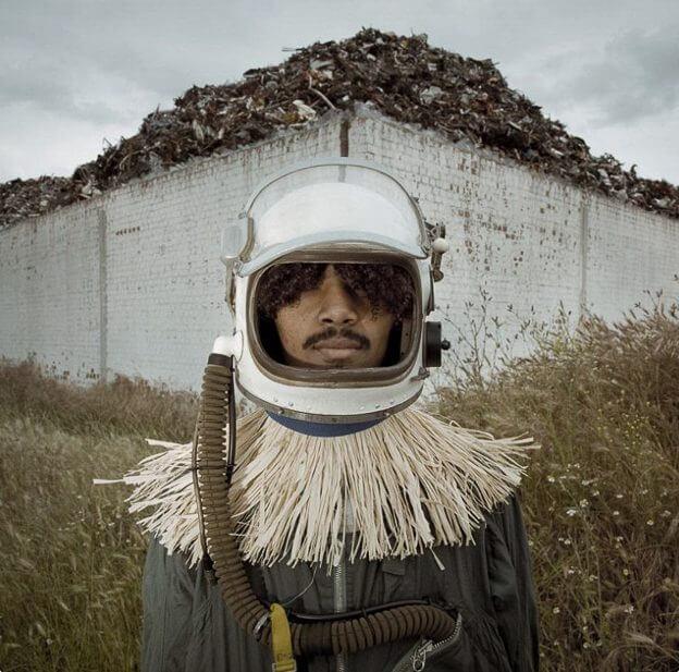 Astronauta en Zambia