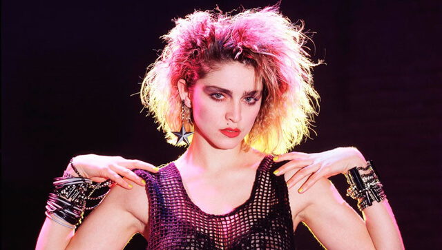 Smokey eyes: años 80, Madonna
