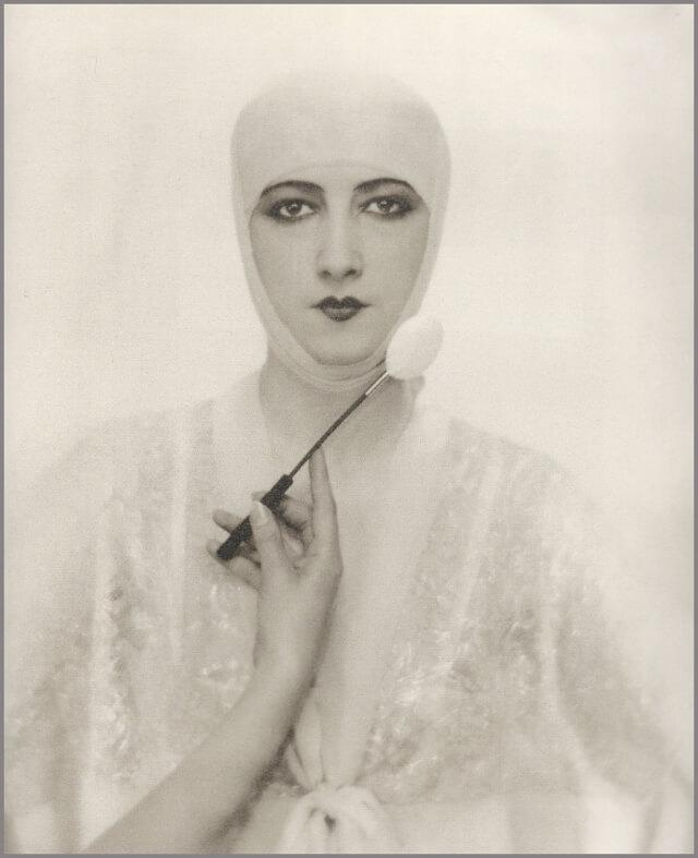 Fotografía de moda: Adolf de Meyer para Elizabeth Arden