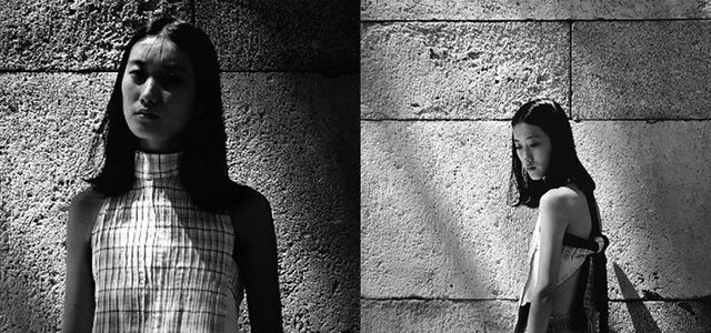 Adriana Cagigas, graduada en Diseño de Moda de ESNE, seleccionada para presentar su primera colección en la Samsung EGO el martes 21 de febrero: Wabi Sabi.