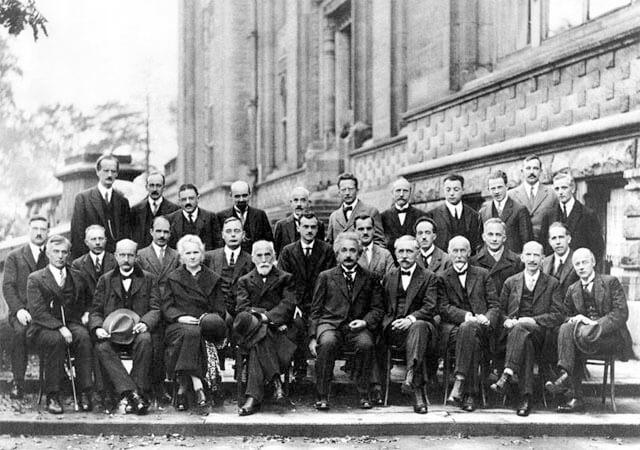 El quinto Congreso Internacional de Solvay