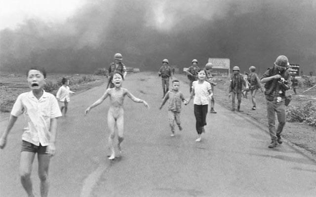 Nick Ut fue el autor de esta fotografía que le sirvió para ganar un premio Pulitzer