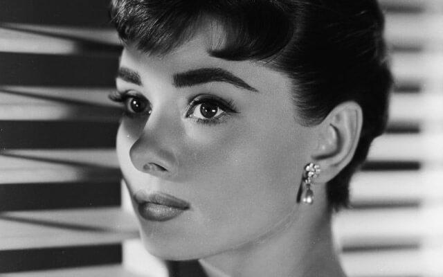 fotograma de la actriz Audrey Hepburn