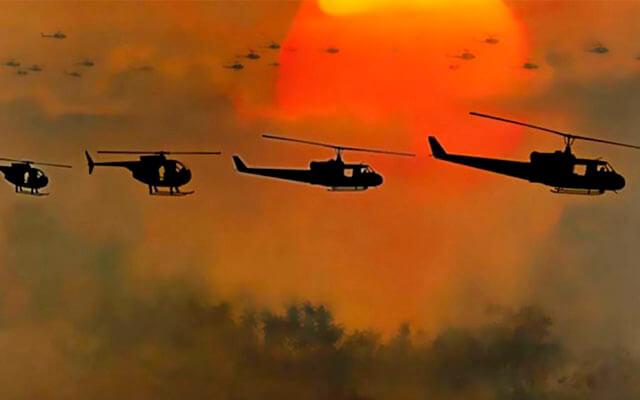 Dirección de fotografía: Apocalypse now