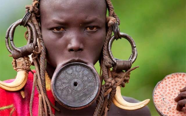 Estereotipo de belleza: África