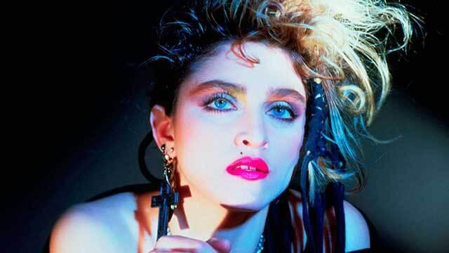 Madonna estilo punk