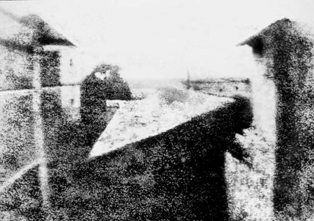 La primera fotografía permanente de la historia |
