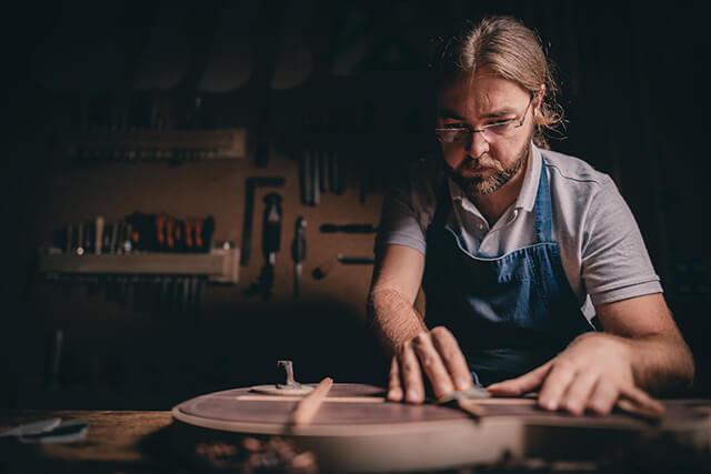 Luthier Guillermo Rodriguez Sanchis, José Salto