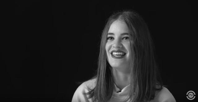 """Lucía Delgado en """"Historias que cuentan"""""""