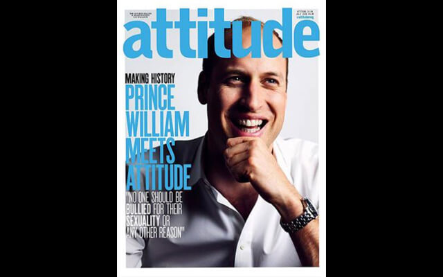 Portadas polémicas: prince Williams, Attitude