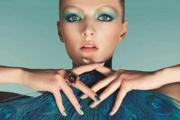 maquillaje ojos color azul