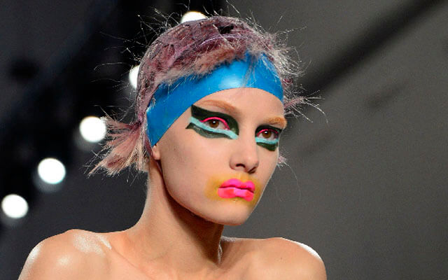 Maquillaje en la pasarela: John Galliano