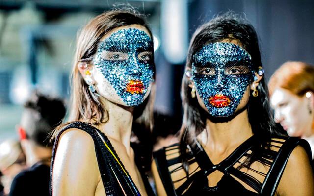 Maquillaje en la pasarela: Givenchy