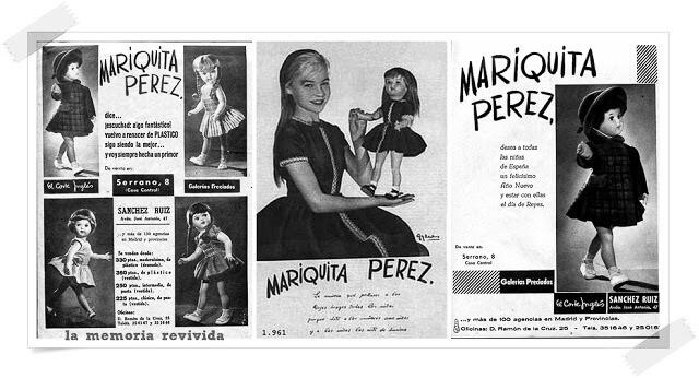 Anuncio de Mariquita Pérez y Mari Sol