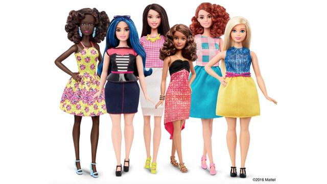 Nuevos modelos de Barbi lanzados en 2015