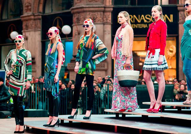 Fotografía de la Milan Fashion Week donde puedes trabajar como maquillador