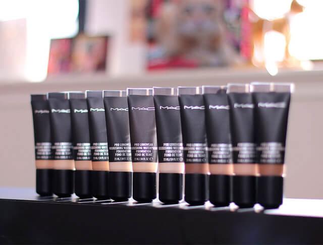Bases de maquillaje waterproof