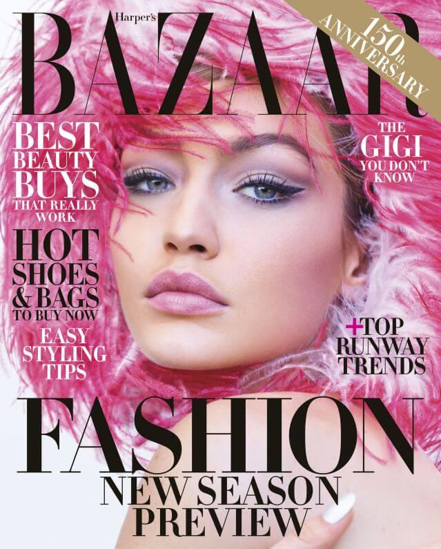 Harper's Bazaar online revistas para maquilladores