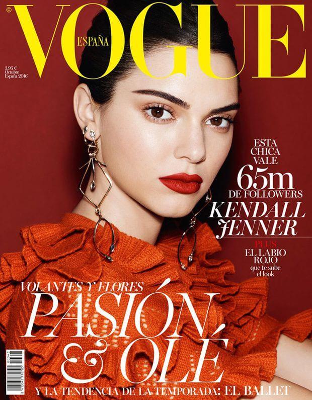 Revista para maquilladores Vogue