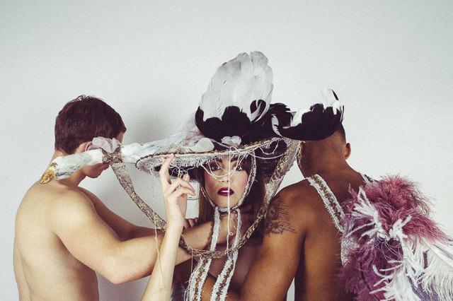 Sombreros belle époque siglo XXI