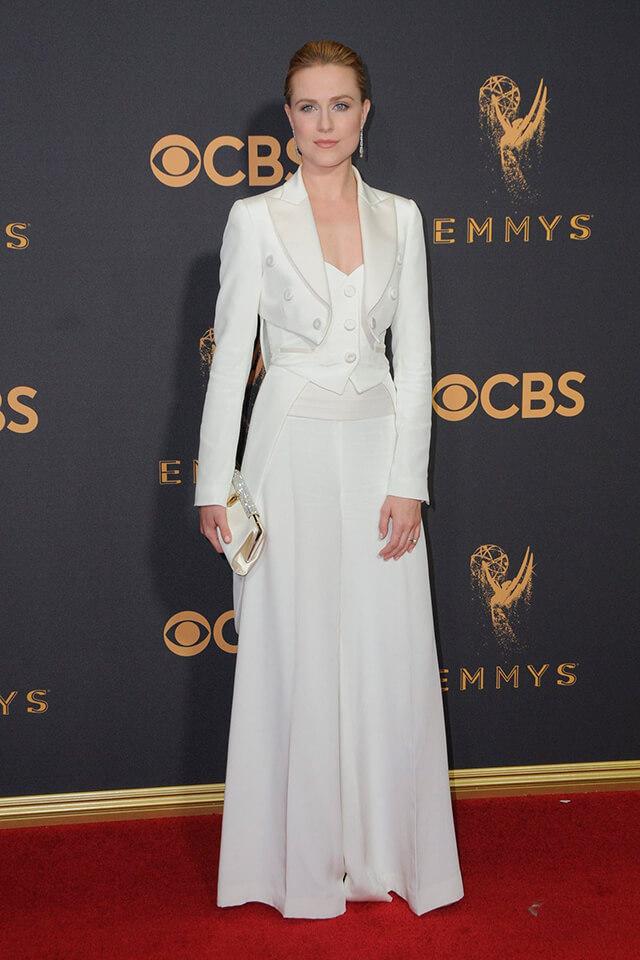 Emmy Awards 2017, los looks más sorprendentes: Evan Rachel Wood