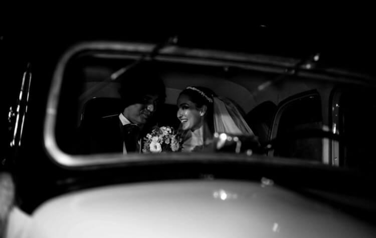Boda en blanco y negro- L'Atelier Photographique