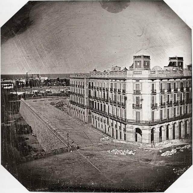 Casa Vidal Quadras, Primer daguerrotipo en España