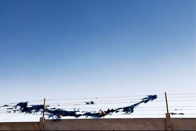 En tierra de nadie. Campo de refugiados Al Tanf