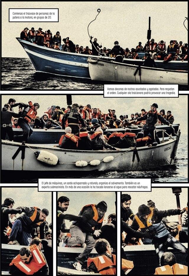 Carlos Spottorno y Guillerm Abril, La Grieta- fotografía y cómic