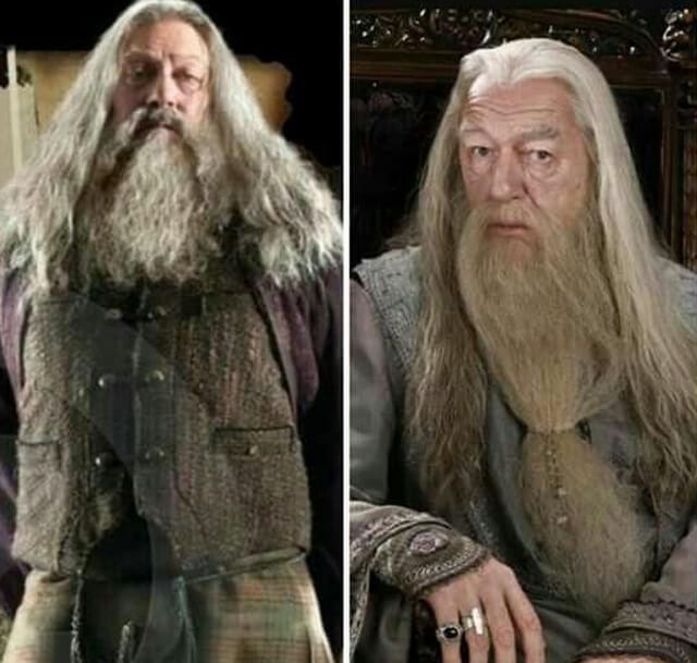 Caracterizaciones en Harry Potter, Dumbledore