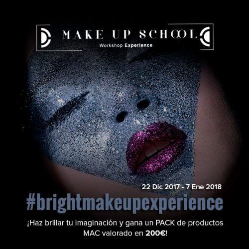 #brightmakeupexperience concurso de maquillaje brillo