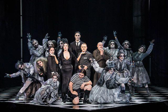 La familia Addams el musical