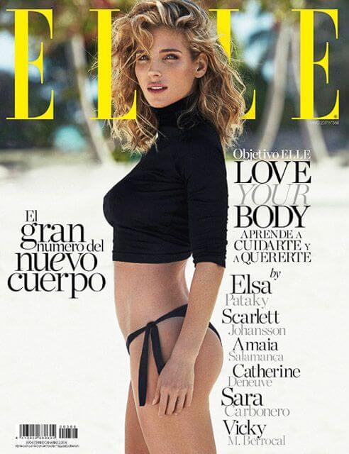 Elsa Pataky para Elle – Xavi Gordo.