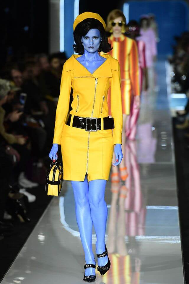 Moschino en la Milán Fashion Week 2018