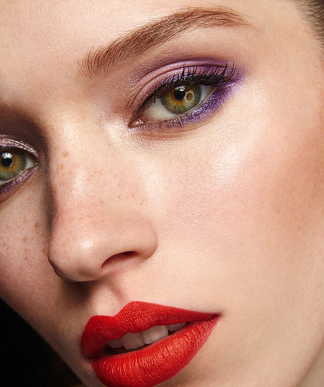 Maquillaje con piel hidratada