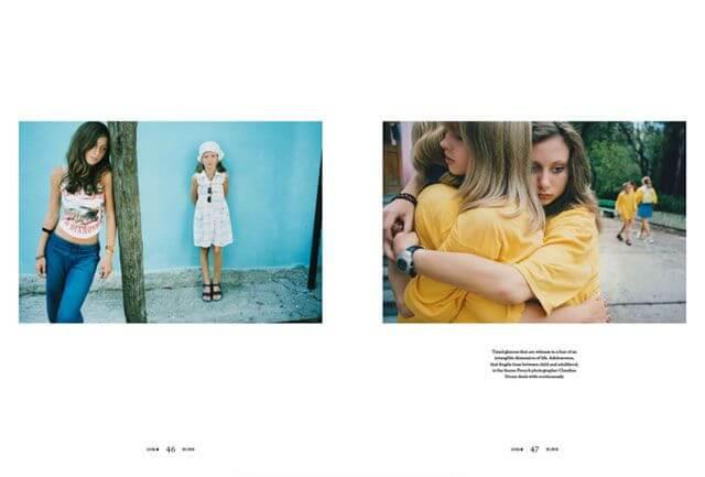 Páginas 46 y 47 de la revista M Magazine