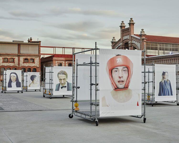 Exposicion en Matadero en Madrid