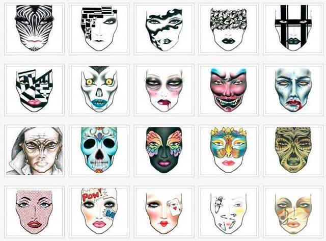 Facecharts de fantasía