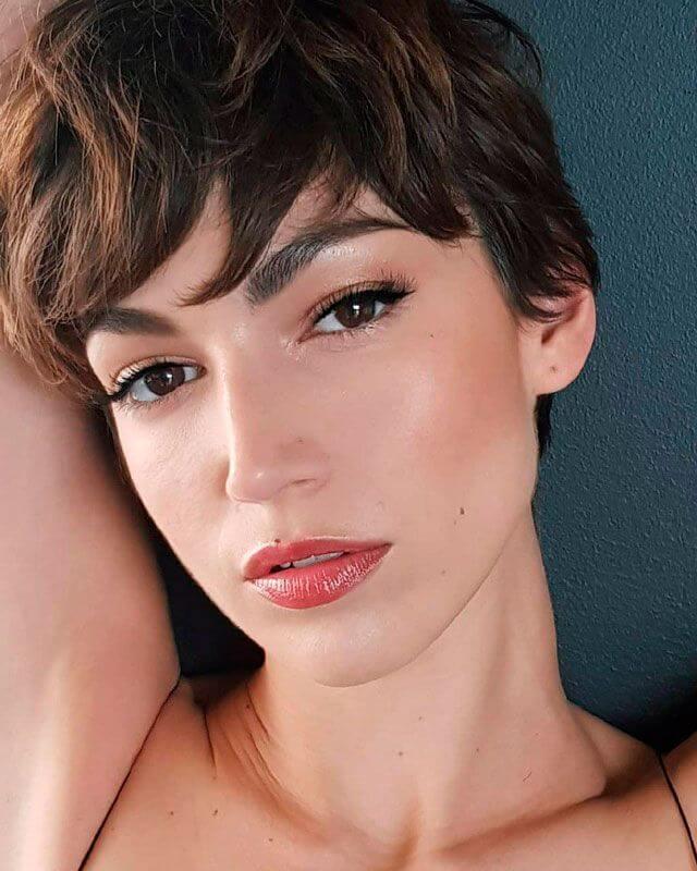 Úrsula Corberó maquillada por Iván Gómez
