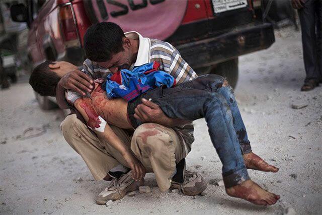 Conflicto de Siria por Manu Brabo