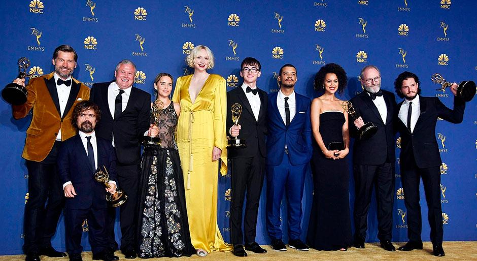 Actores Juego de Tronos en gala